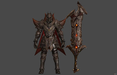 'Archeage Begins' Dullahan Warrior 2.0 XPS ONLY!!!