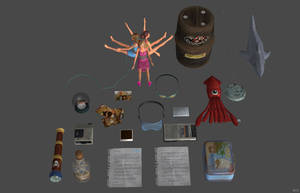 'Life is Strange BtS' Farewell items pack XPS ONLY by lezisell
