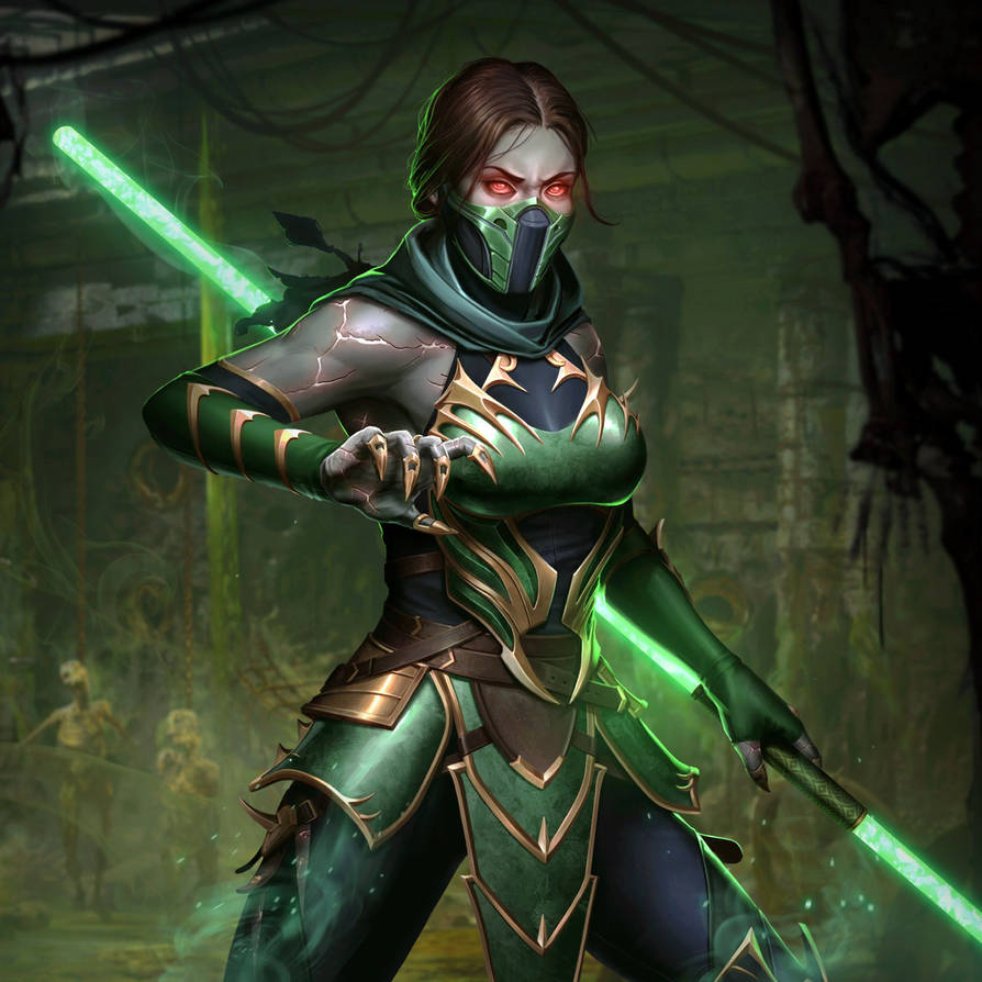 Mortal Kombat X: Mobile' Jade Mk11 XPS ONLY!!! by lezisell on DeviantArt