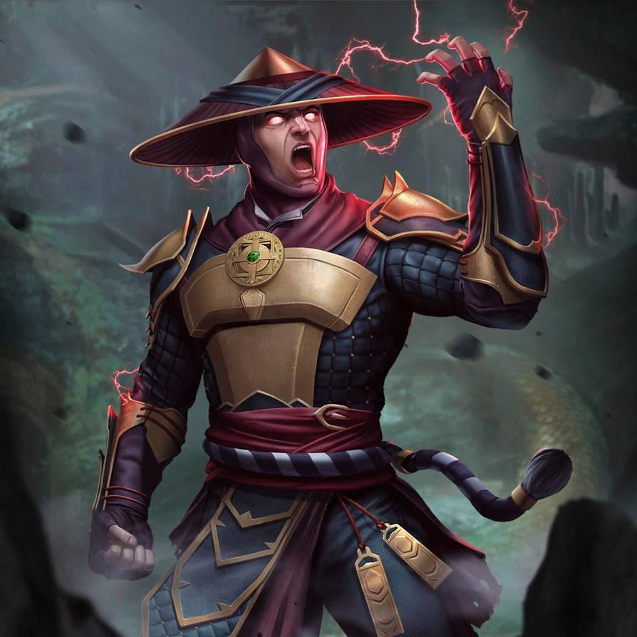 Mortal Kombat X:Mobile' Raiden(MK11) 2 0 XPS ONLY by