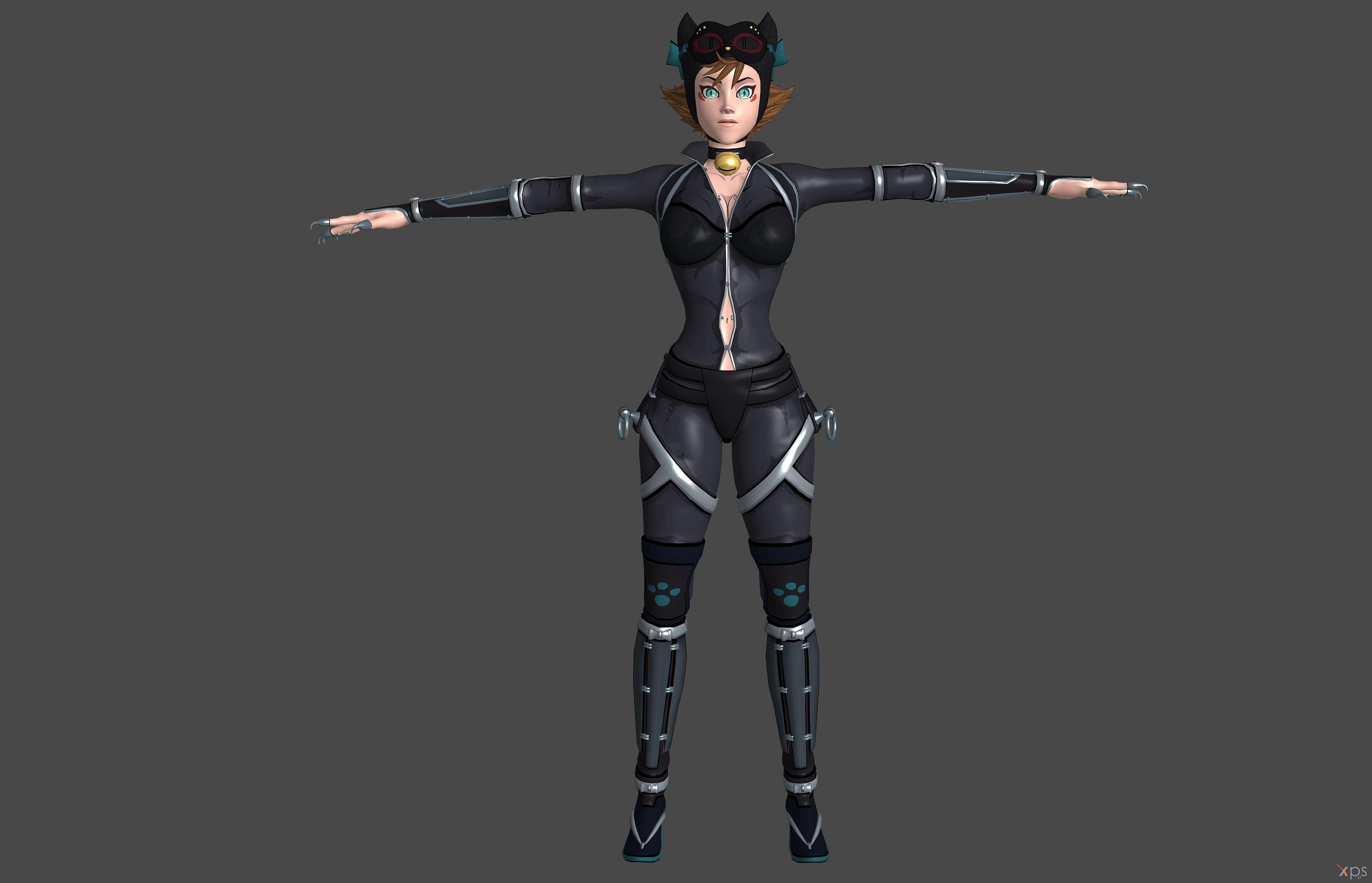 Injustice 2 Catwoman Batman Ninja Xps Only By Lezisell On Deviantart