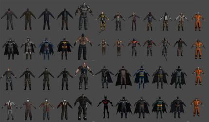 'Batman: Arkham Origins Mobile' Pack XPS ONLY!!! by lezisell