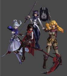 'Smite' RWBY Pack XPS ONLY!!!