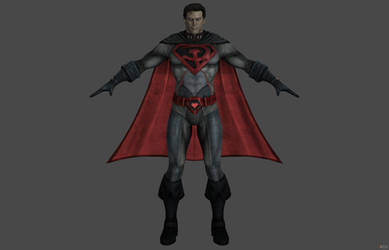'Injustice: Gods Among Us' Superman (Red Son) XPS!