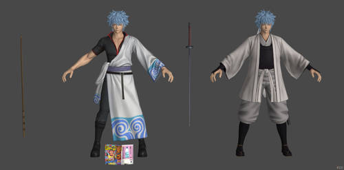 'King of Fighters: All Stars' Gintoki XPS ONLY!!!