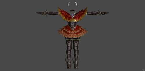 [FREE] 'Soul Calibur 6' Cursed Bird Set XPS ONLY!! by lezisell