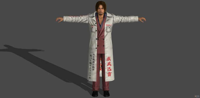 'Yakuza: Kiwami 2' Yuuya (Zoku) XPS ONLY!!!