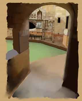 Roman bathing pool - WIP 2