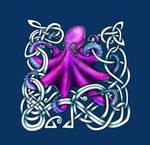 Purple Celtic Octopus