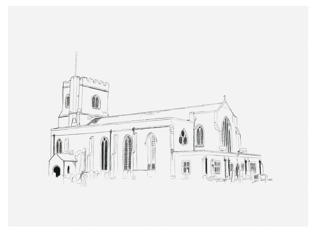 St Mary's - sketch by ArkadyRose
