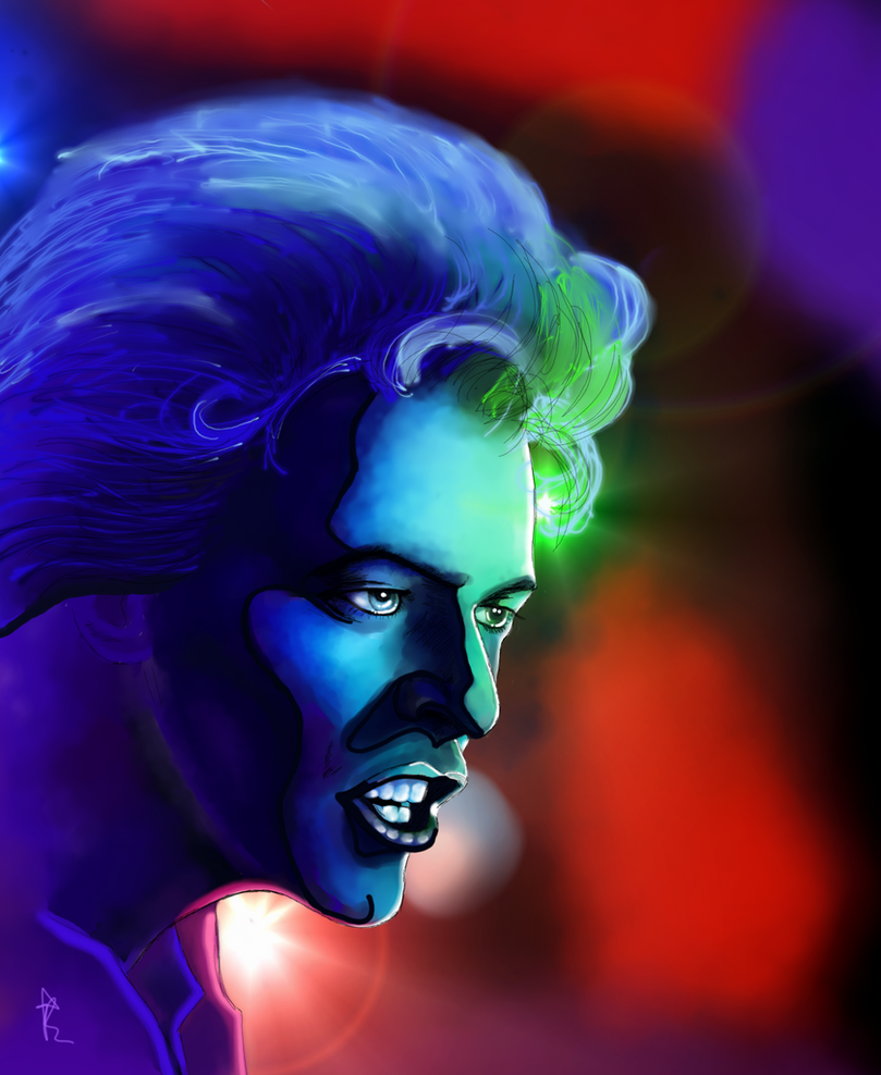 David Bowie by ArkadyRose