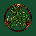 Serpent Triskellion