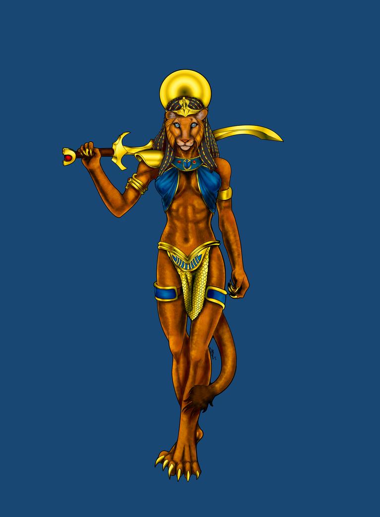 Sekhmet by ArkadyRose