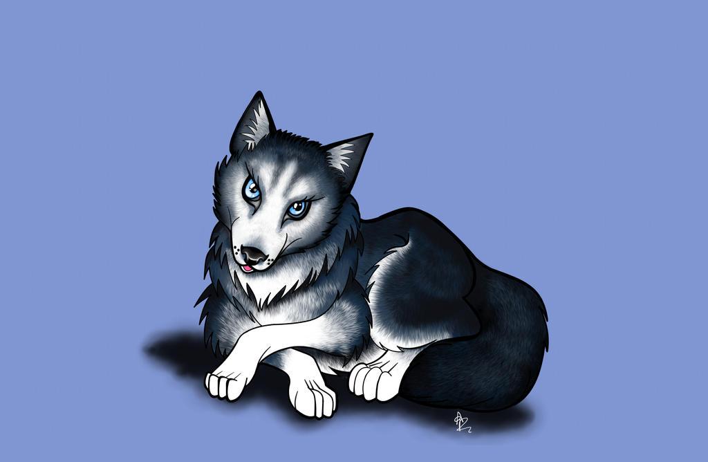 Husky by ArkadyRose