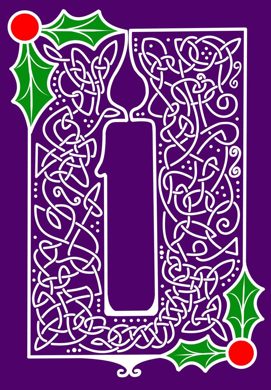 Celtic Knotwork Candle by ArkadyRose