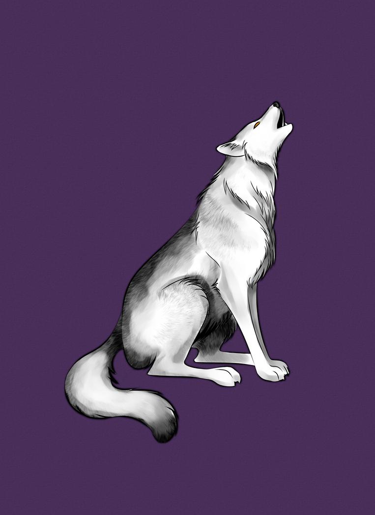 Howling Wolf by ArkadyRose
