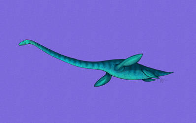 Plesiosaur by The-Arkadian