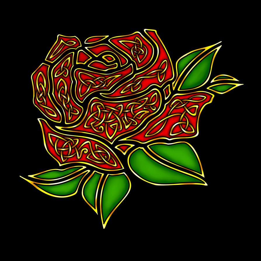 Celtic Rose by RoseGerard