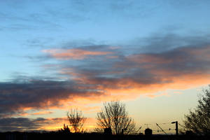 Dawn Sky in Winter