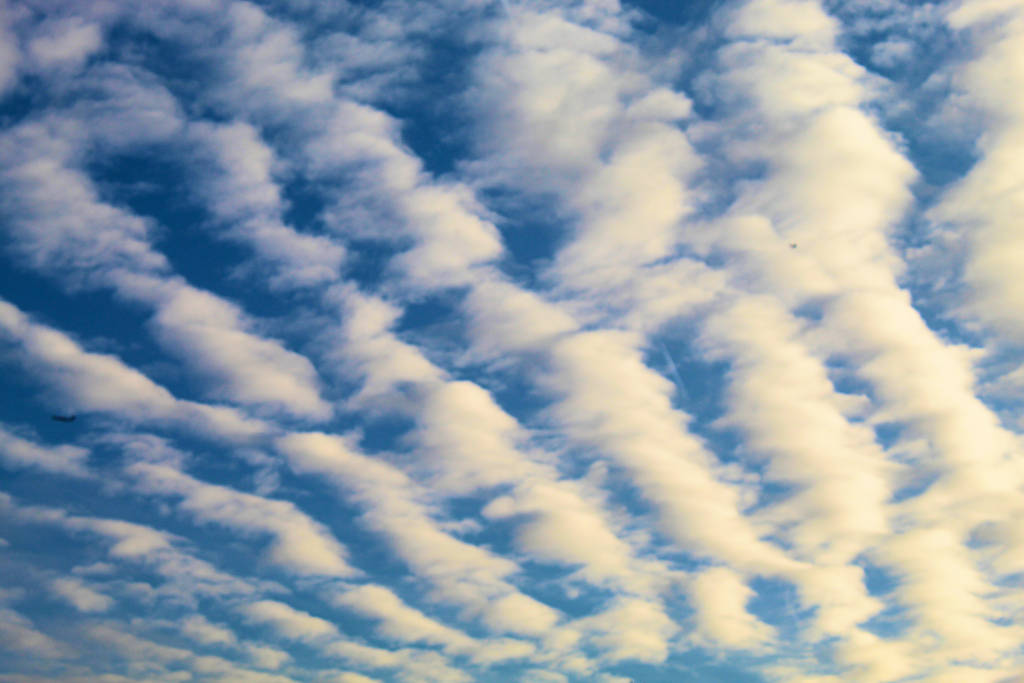 Cirrus Clouds in a Winter Sky by The-Arkadian