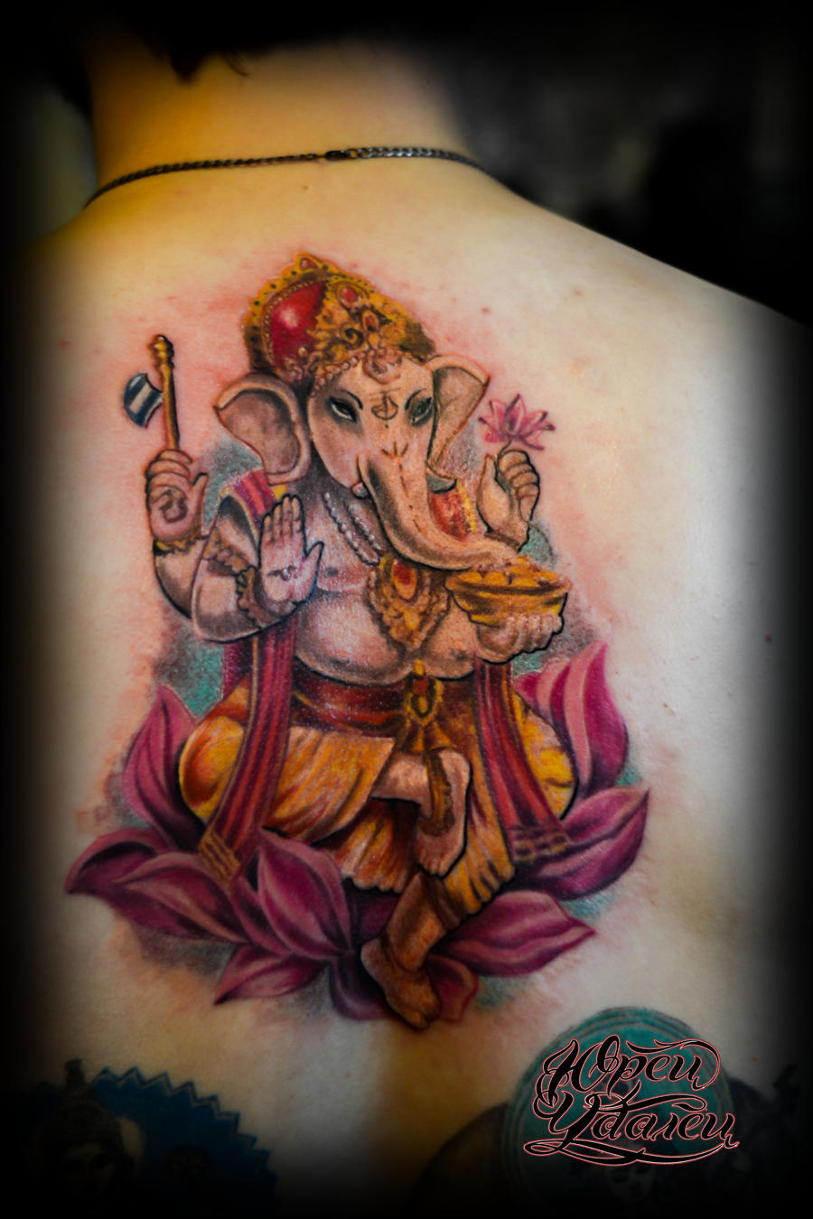 Ganesh tattoo by y tattoo on deviantart for Ganesh tattoo pictures