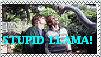 Stupid Llama - stamp