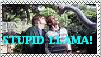 Stupid Llama - stamp by InuYashaSesshomaru