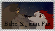 .:Balto and Jenna:. by InuYashaSesshomaru