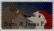 .:Balto and Jenna:. by InuYashaSesshomaru