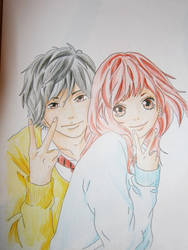 Ao Haru Ride by Kris-Min-YG