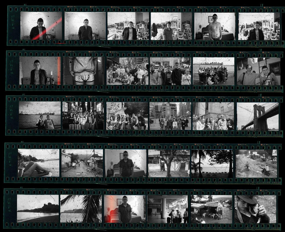 Contact Sheet of me by Metr0polis
