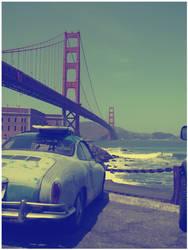 San Francisco Surf by Metr0polis