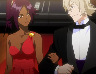 My favorite anime couple is Yoruichi_x_Urahara. I think they suit each other