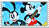 Epic Mickey / Oswald and Mickey Stamp by CaramelCorgi