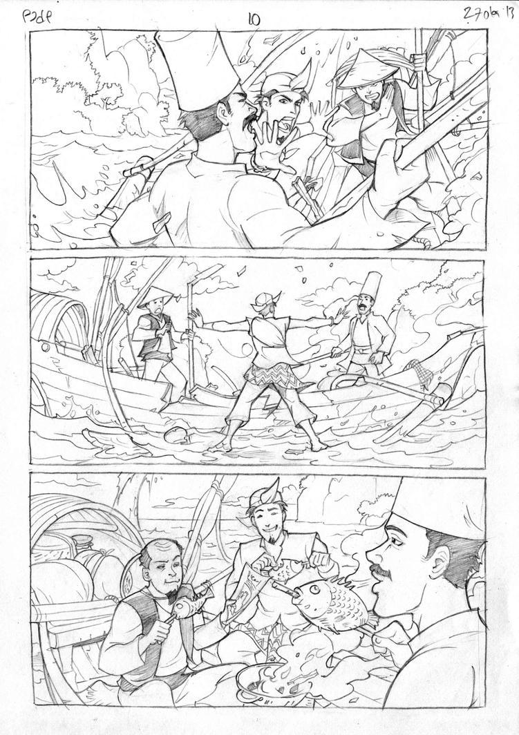 Petualangan Jaka dan Pusaka Pencil page 11 by arivrussanto