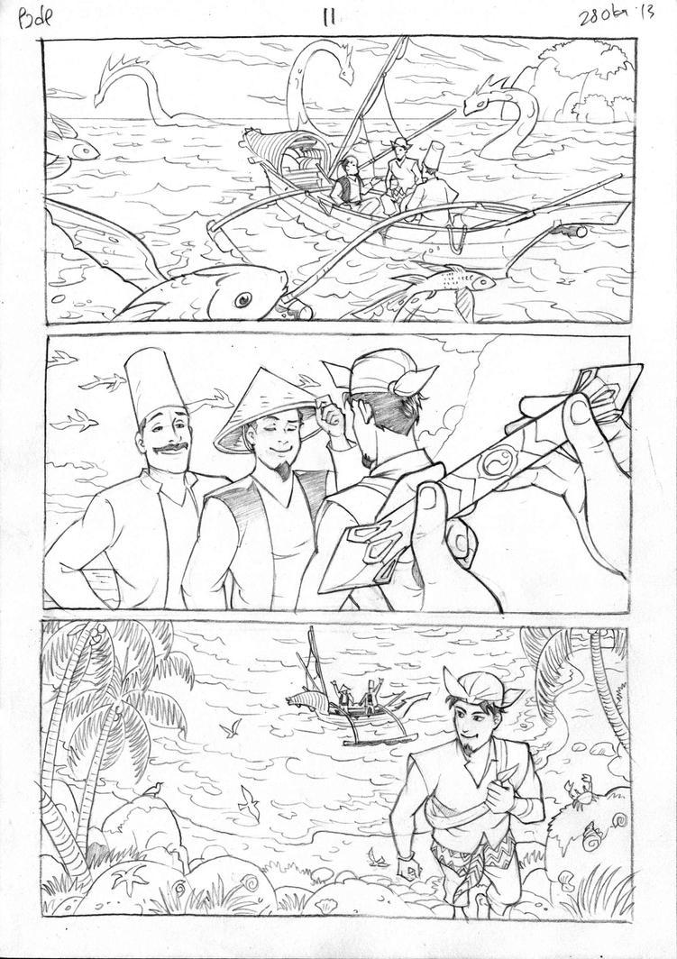 Petualangan Jaka dan Pusaka Pencil page 12 by arivrussanto