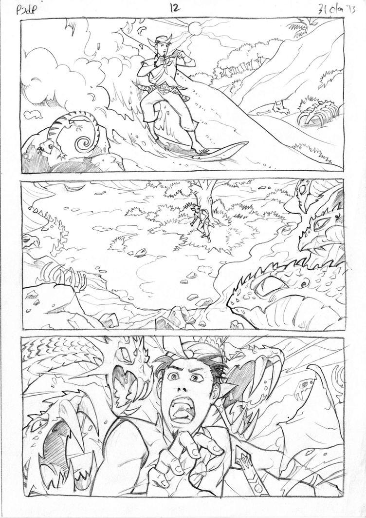 Petualangan Jaka dan Pusaka Pencil page 13 by arivrussanto