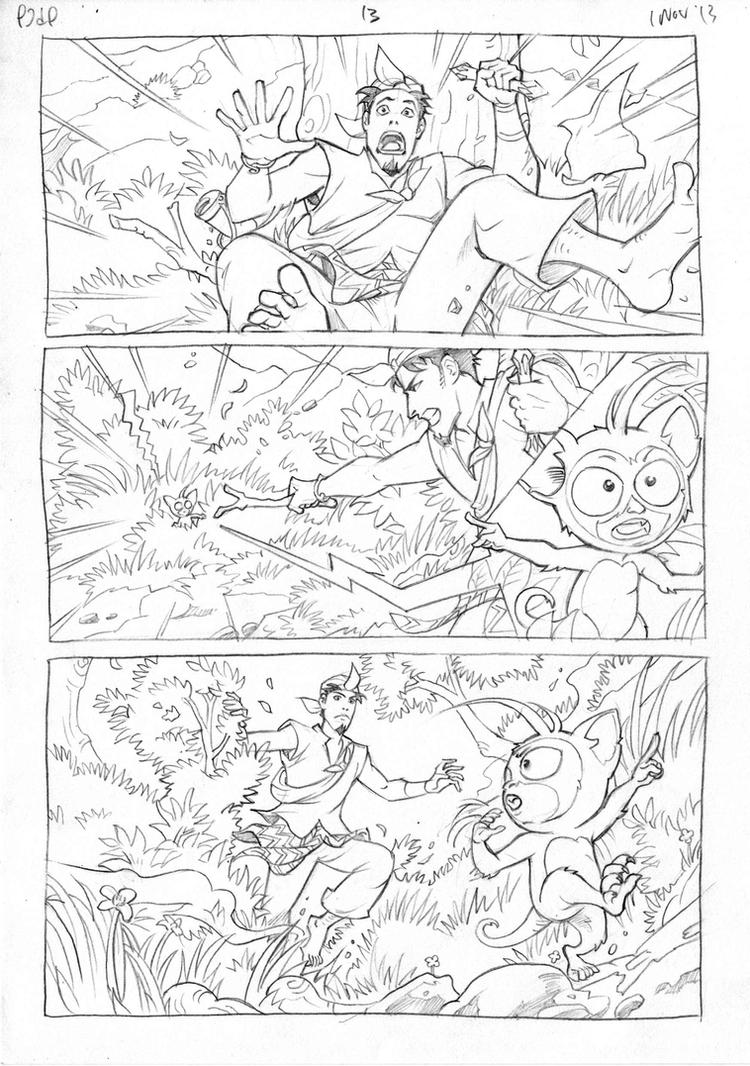 Petualangan Jaka dan Pusaka Pencil page 14 by arivrussanto