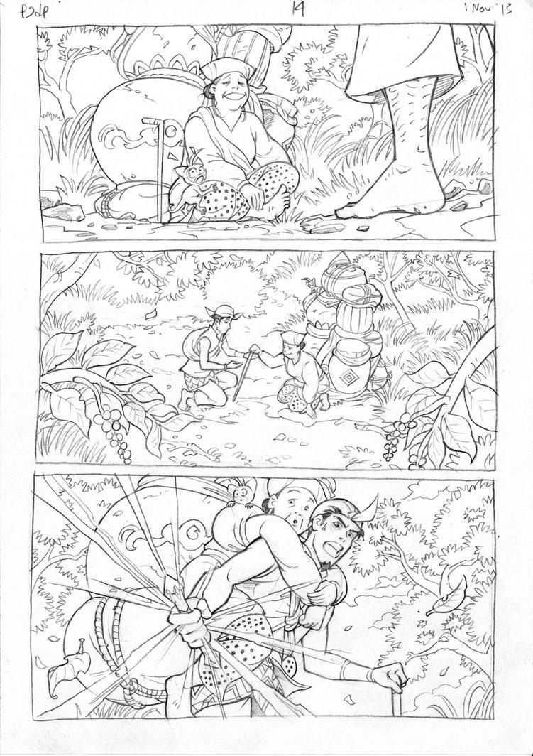 Petualangan Jaka dan Pusaka Pencil page 15 by arivrussanto