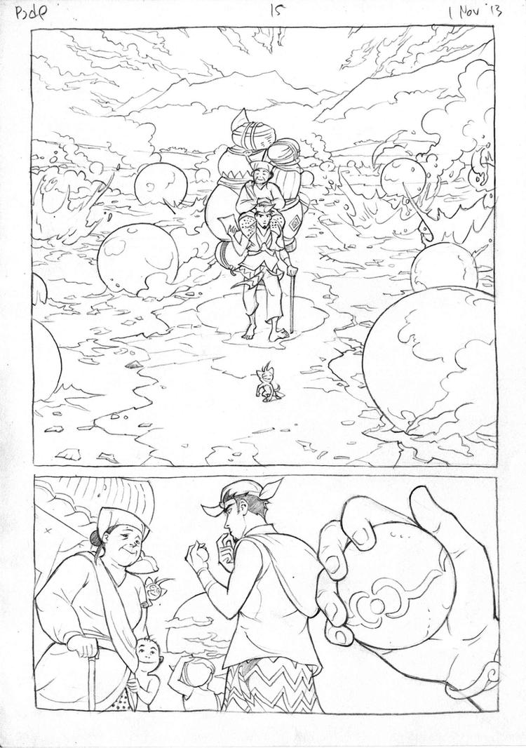 Petualangan Jaka dan Pusaka Pencil page 16 by arivrussanto