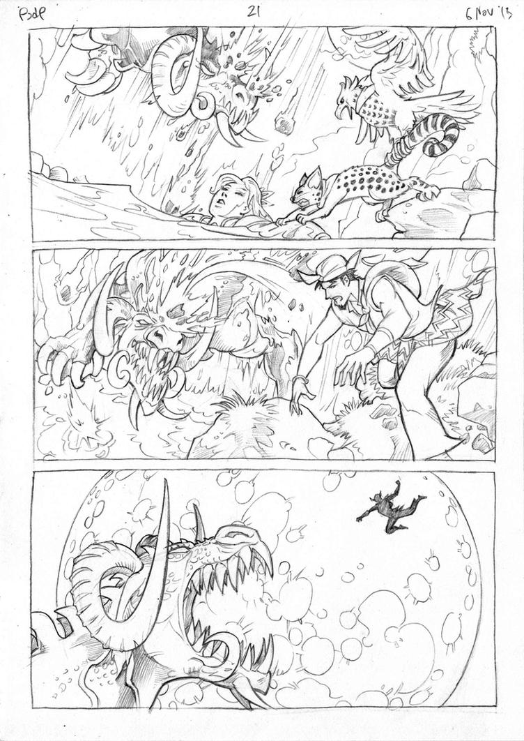 Petualangan Jaka dan Pusaka Pencil page 22 by arivrussanto