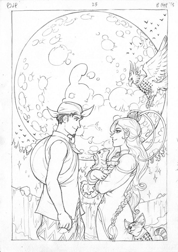 Petualangan Jaka dan Pusaka Pencil page 24 by arivrussanto