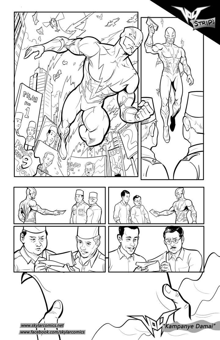 Volt Comic Strips by arivrussanto