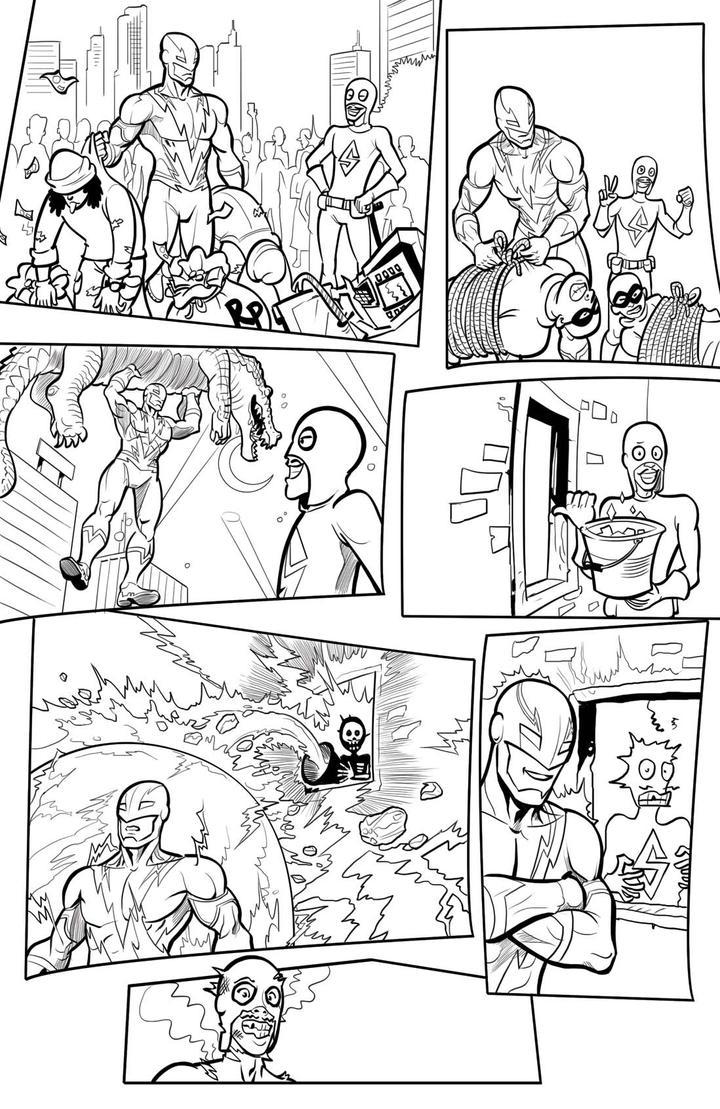 Volt comicstrip Ice Bucket Challenge by arivrussanto