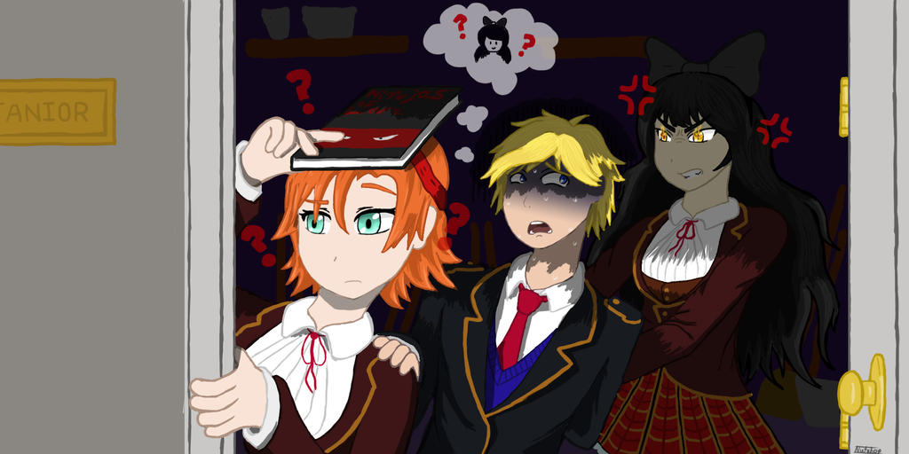 Watch besides 88684 The Otakus Unoriginal Art Photography Etc in addition Page 1231 likewise Huntress Au Behind Ozpin And His Cup Ruby And furthermore Rwby Jaune Figure. on halo rwby ruby