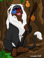 Animal Contest Rafiki Lion by LionKingFanClub