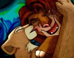 Restless Warrior by LionKingFanClub