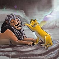 Eat Teh Stick by LionKingFanClub