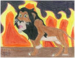 Scar in Hell-GlamorousMewtwo by LionKingFanClub