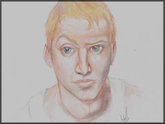 Portrait Boy Pencils